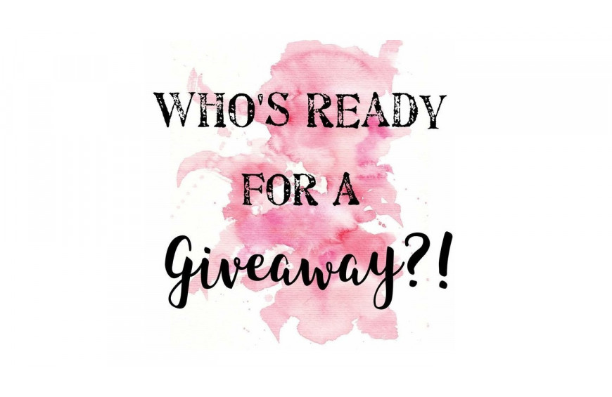 Who is ready for a giveaway?