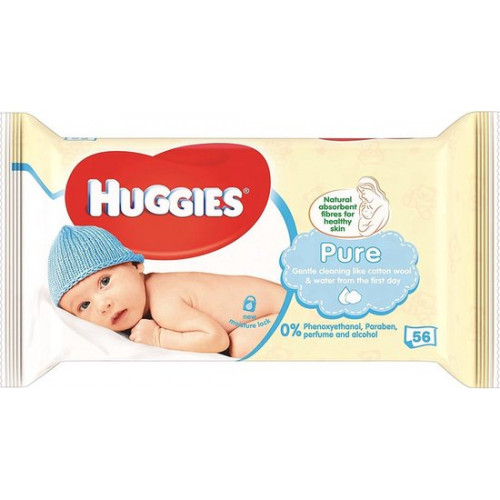 Huggies Babywipes pure 56pcs