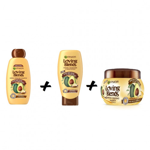 Garnier Loving Blends Avocado and Karite Butter Combideal - 800ml