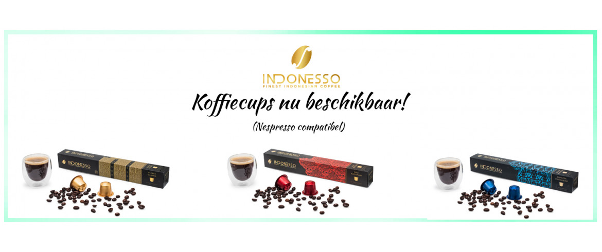 Indonesso Koffie cups