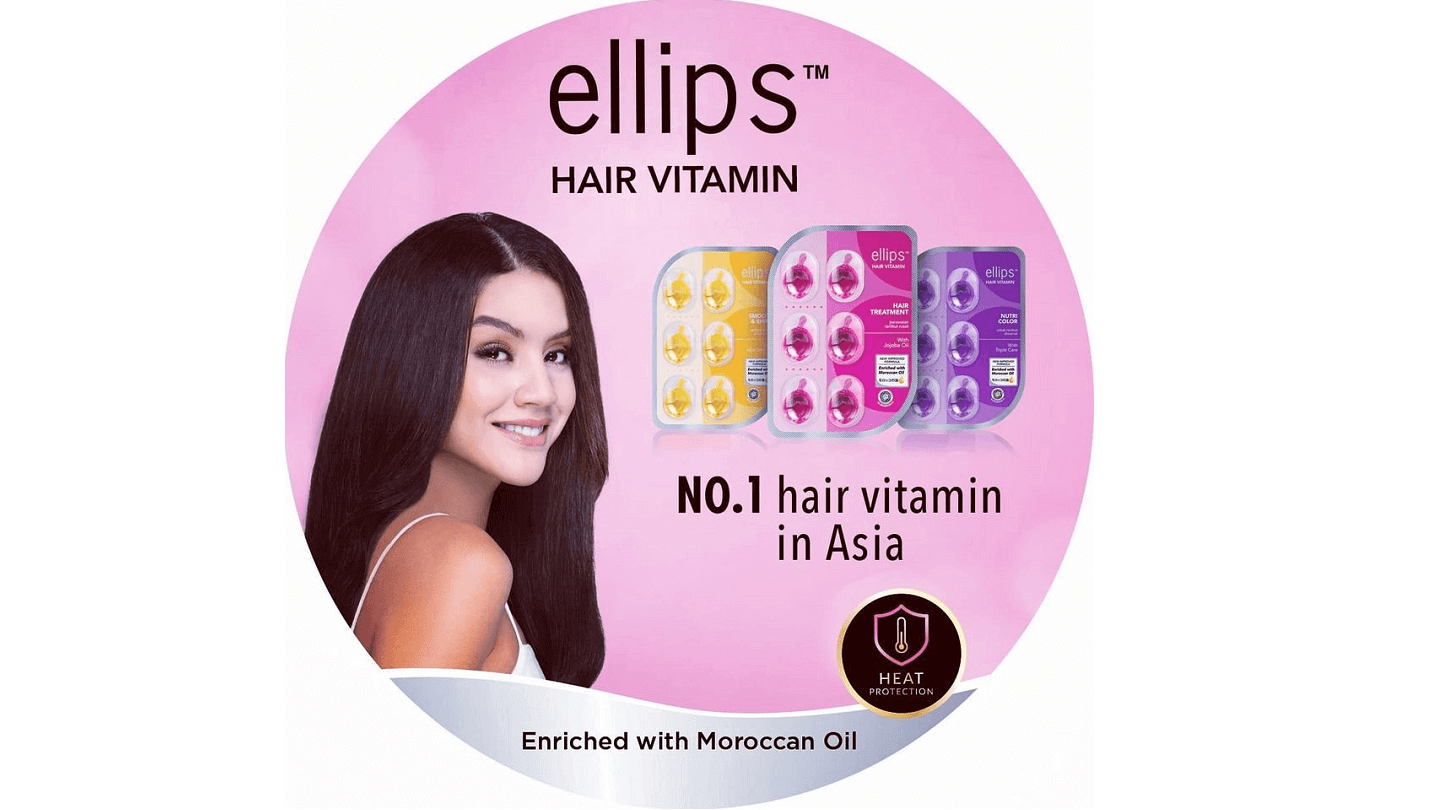 Product in the spotlight:  Ellips Hairvitamins